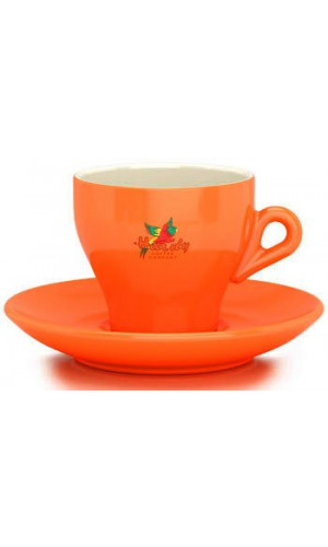 HARDY Cappuccinotasse Orange