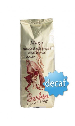 Barbera Mago Decaffeinato 250 gr in grani